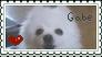 Gabe the Dog Stamp by Iskalt