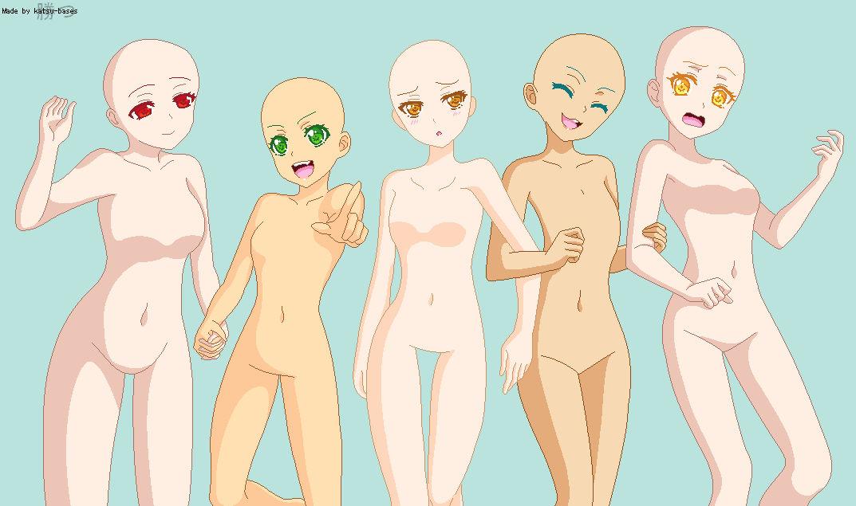 Group Base Five Girls Interlinked By Katsu Bases On Deviantart Contoh soal pelajaran puisi dan pidato populer anime base. group base five girls interlinked by