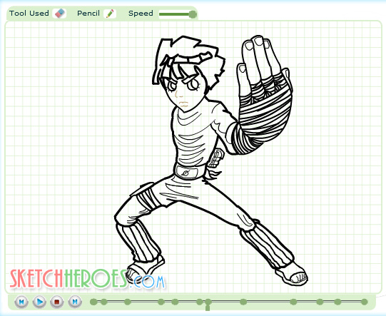 How to draw Rock Lee Part 2 by SketchHeroes on deviantART