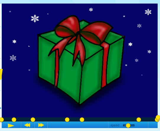 how to draw a christmas gift part 3 by sketchheroes