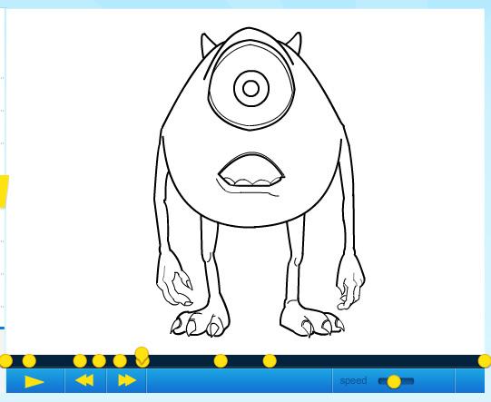 Mike Wazowski And Sully Drawing How to Draw Mike Wazowski Part