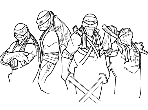 how to draw teenage mutant ninja turtles part 2 by sketchheroes