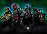 How to draw Teenage Mutant Ninja Turtles Part 3