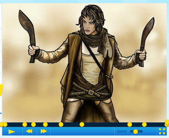 How to draw Milla Jovo... Milla Jovovich Resident Evil 3