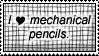 STAMP-mechanical pencils by Sister-of-Charity