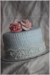 roses, quilt and lace