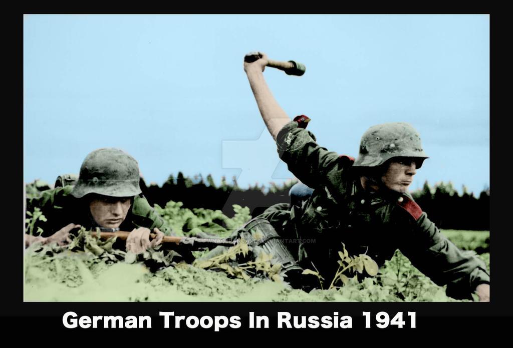 German Troops ww2 color restored image by pwnagepancakes on DeviantArt