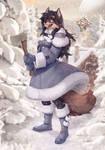 Winter Kyla by Zardoseus