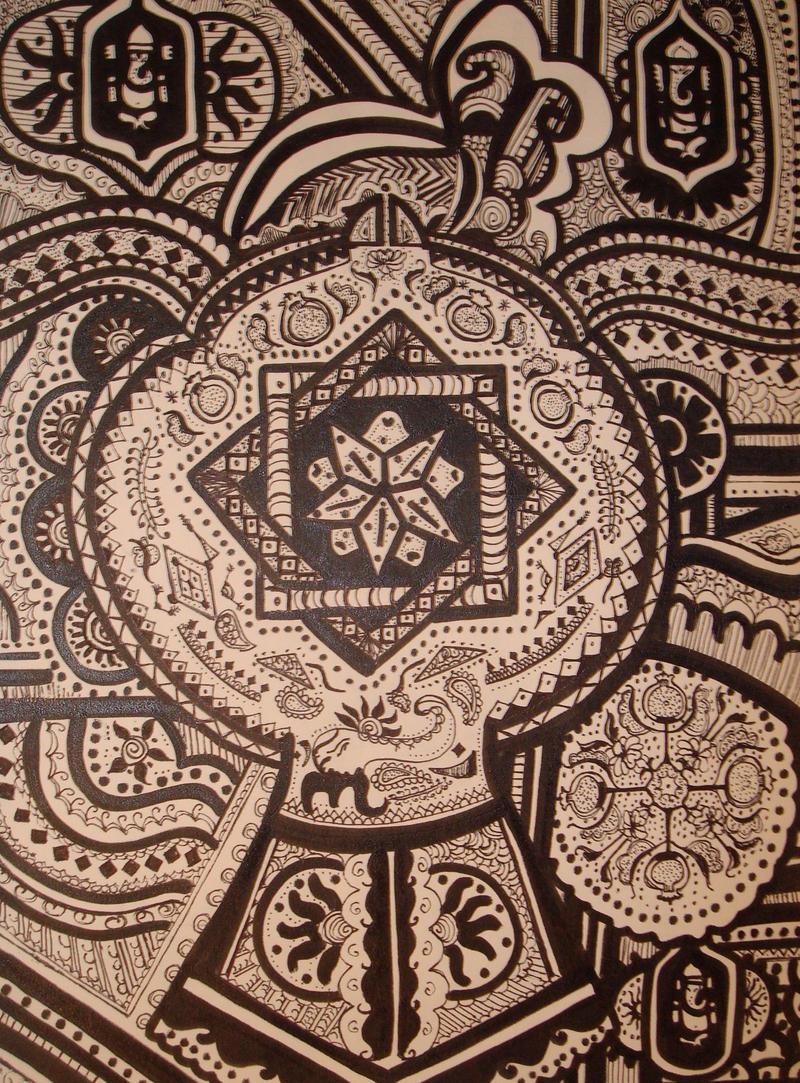 hindu mandala wallpaper -#main