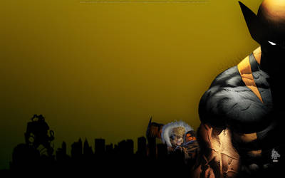 Wolverine Wallpaper by bbboz