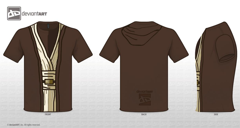 Jedi Shirt Design by bbboz