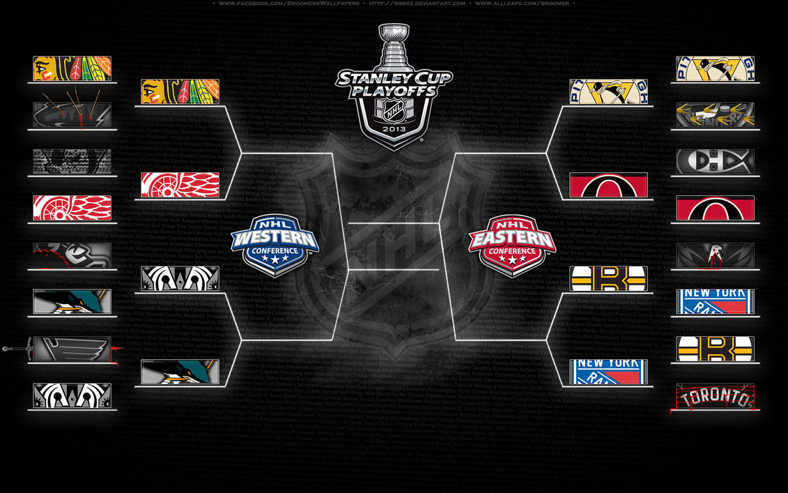 2013 Playoff Bracket - 2nd round by bbboz
