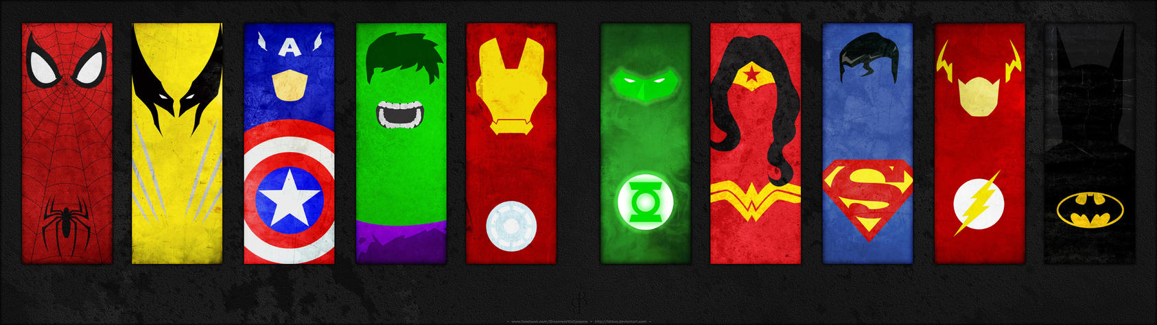 DC Marvel Minimalistic Dual by bbboz