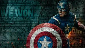 Captain America Avengers Wallpaper by bbboz