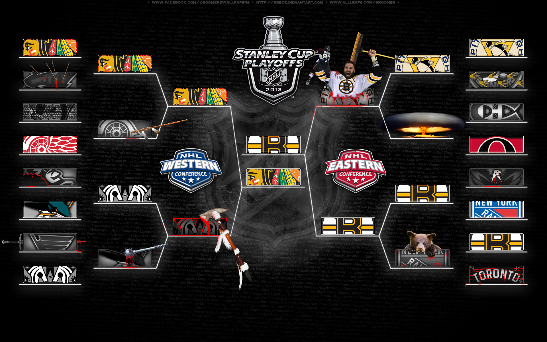 Nhl Playoffs 2013 Bracket | www.pixshark.com - Images Galleries With A Bite!