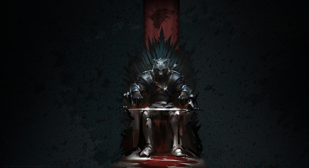 King In The North Wallpaper Centered By Bbboz