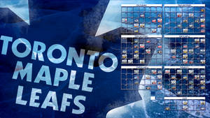 2014-2015 Leafs Schedule 16:9 Wallpaper by bbboz