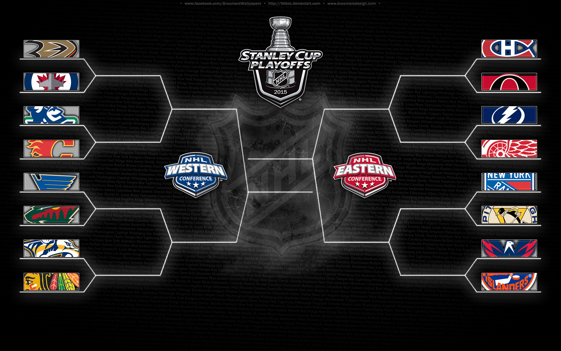 2015 NHL Playoff Bracket by bbboz on DeviantArt