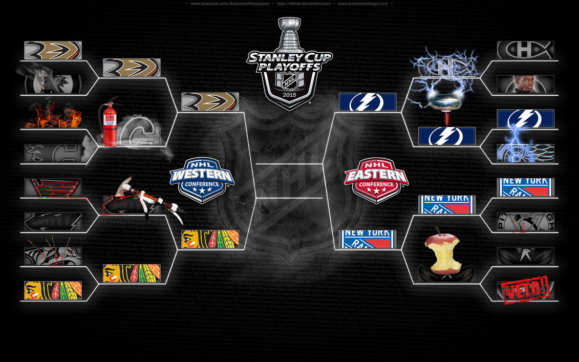 '15 NHL Playoffs 3rd round (Creative eliminations) by bbboz