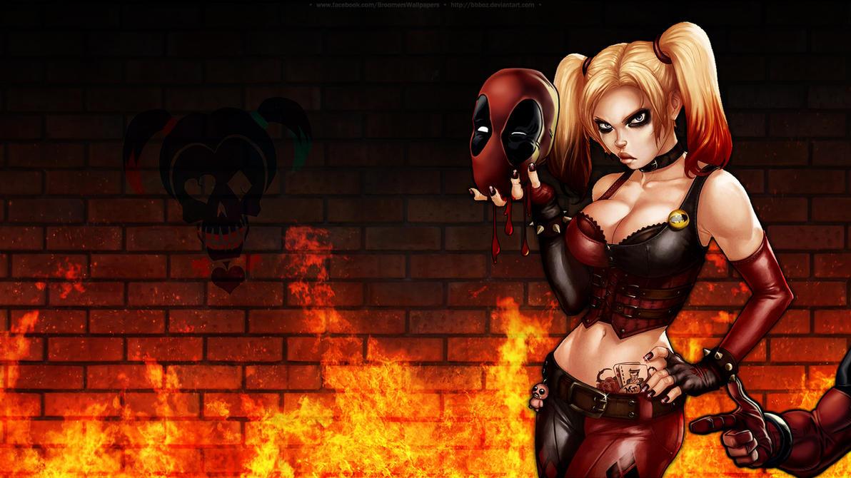Deadpool And Harley Quinn Wallpaper Loft Wallpapers