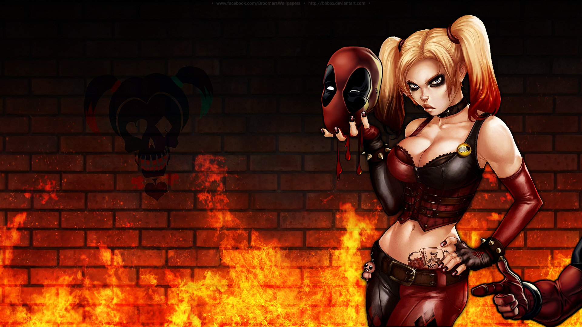 Harley Pool wallpaper by bbboz