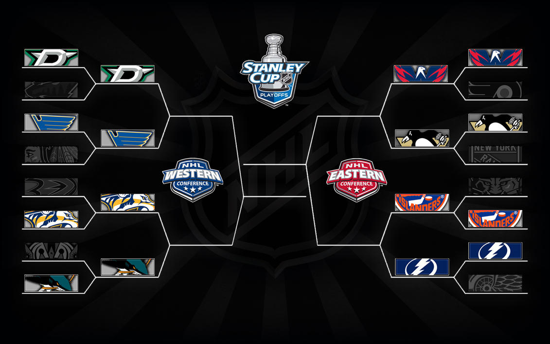 2016 Playoff Bracket Round two by bbboz