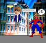 Spiderman killed Justin Gayber