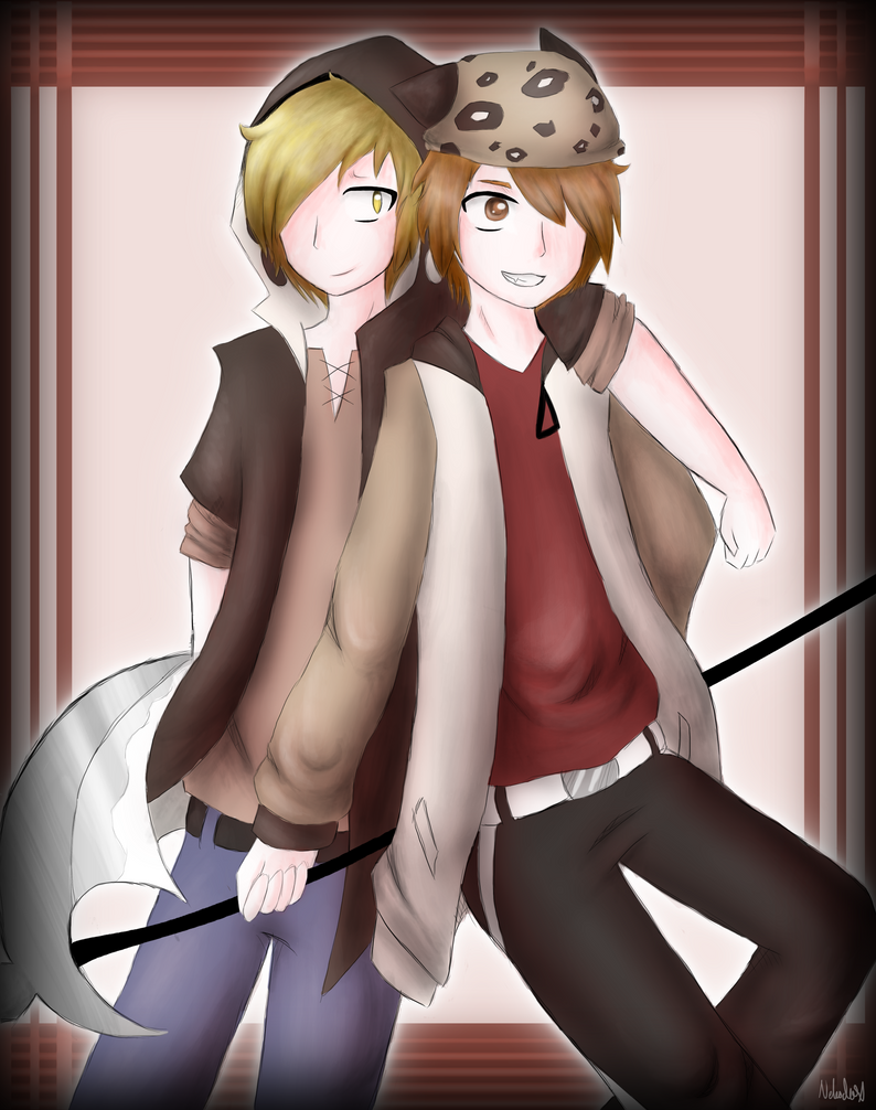 Kano and Yuto - Crossover by Nekodox