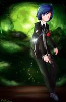 Persona 3 - protagonist by Nekodox
