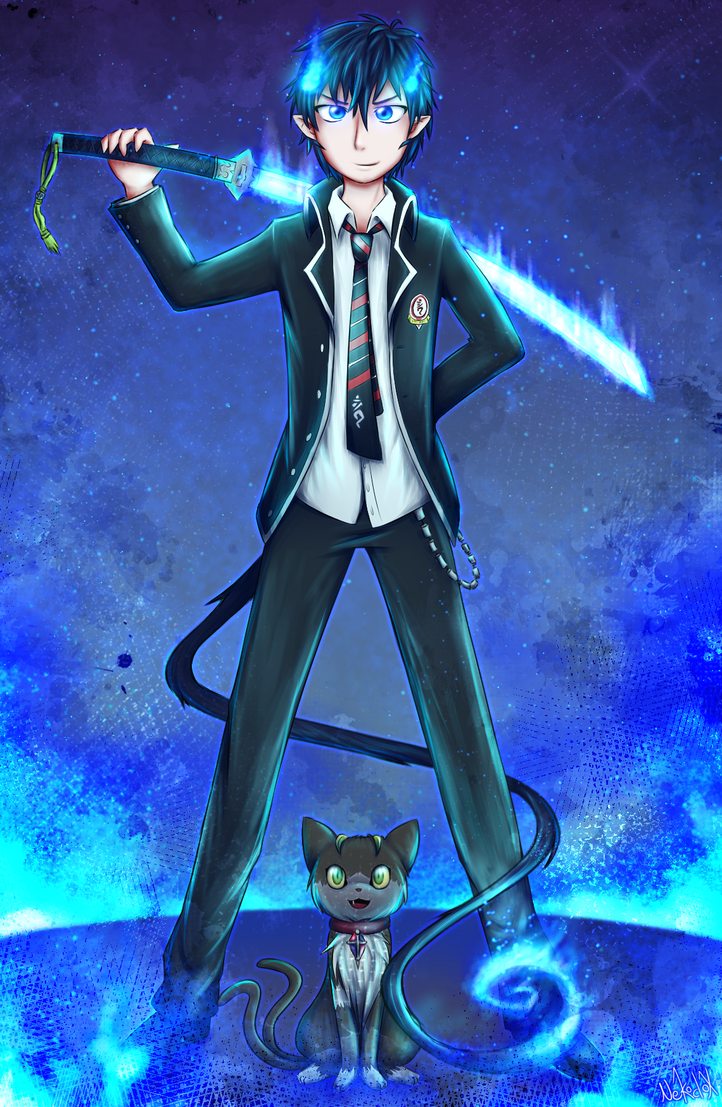 Blue Exorcist by Nekodox
