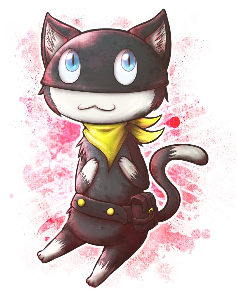 Persona 5 - Morgana by Nekodox
