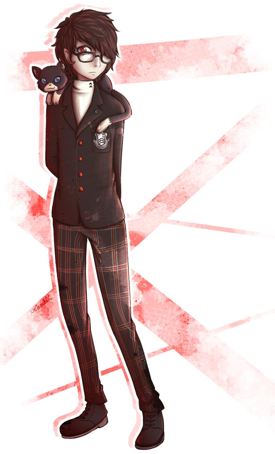 Persona 5 - Protagonist by Nekodox