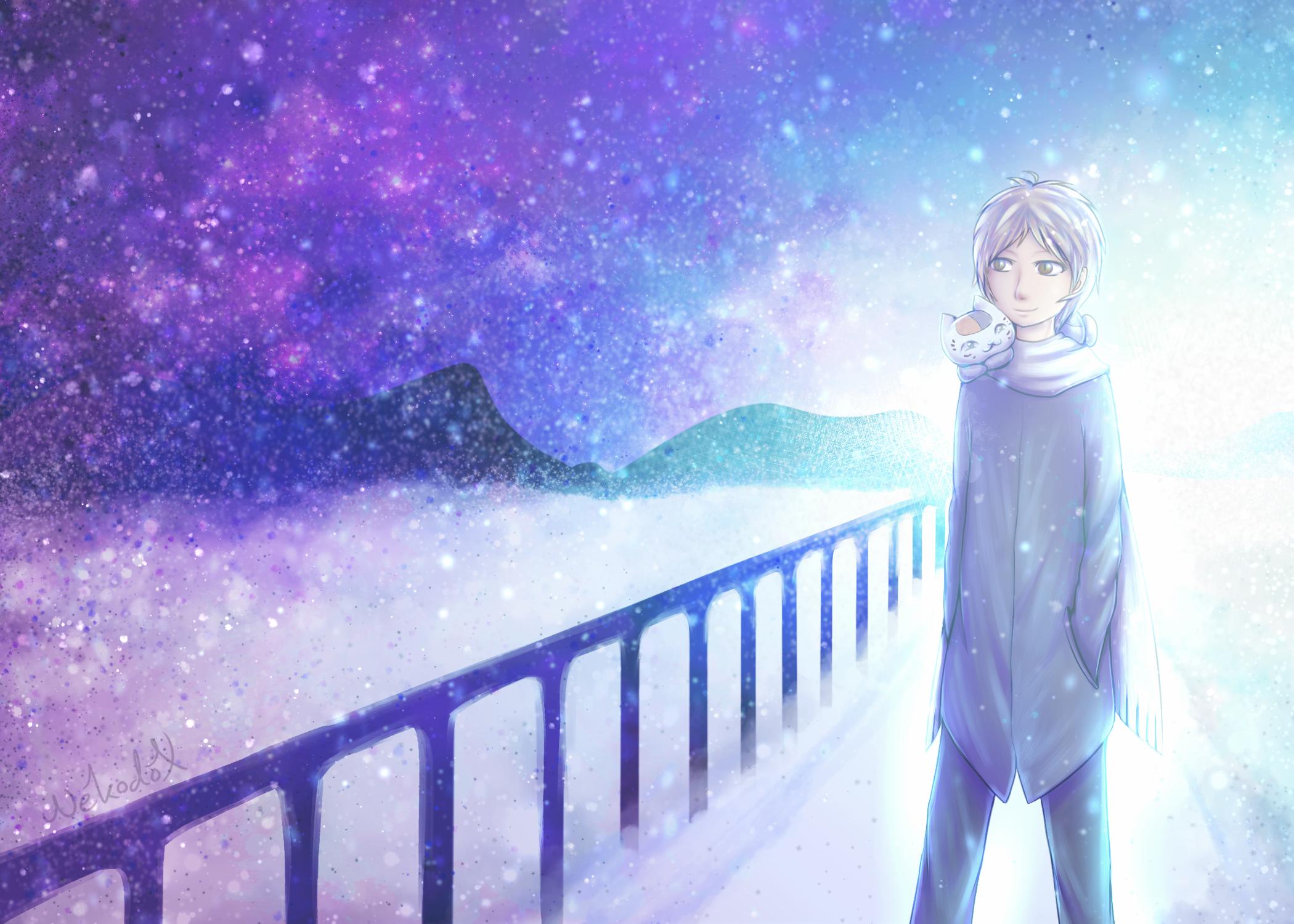[Natsume Yuujinchou] Winter Evening by Nekodox