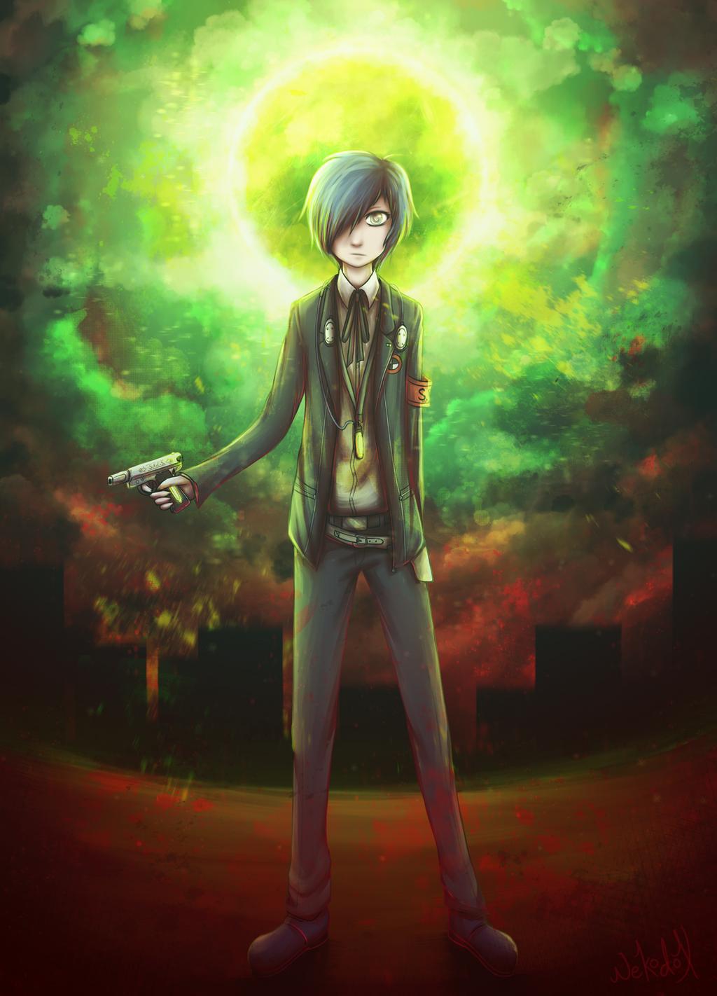[Persona 3] Protagonist / Minato Arisato by Nekodox