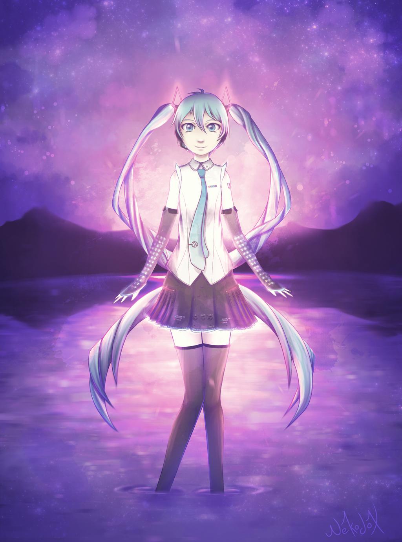 [Vocaloid] Hatsune Miku by Nekodox