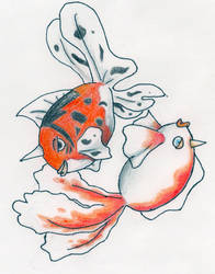 Goldeen and Seaking