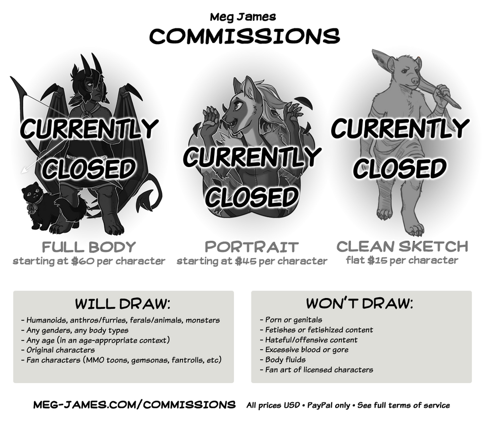 Commission Info (updated 4-23-18) (CLOSED)