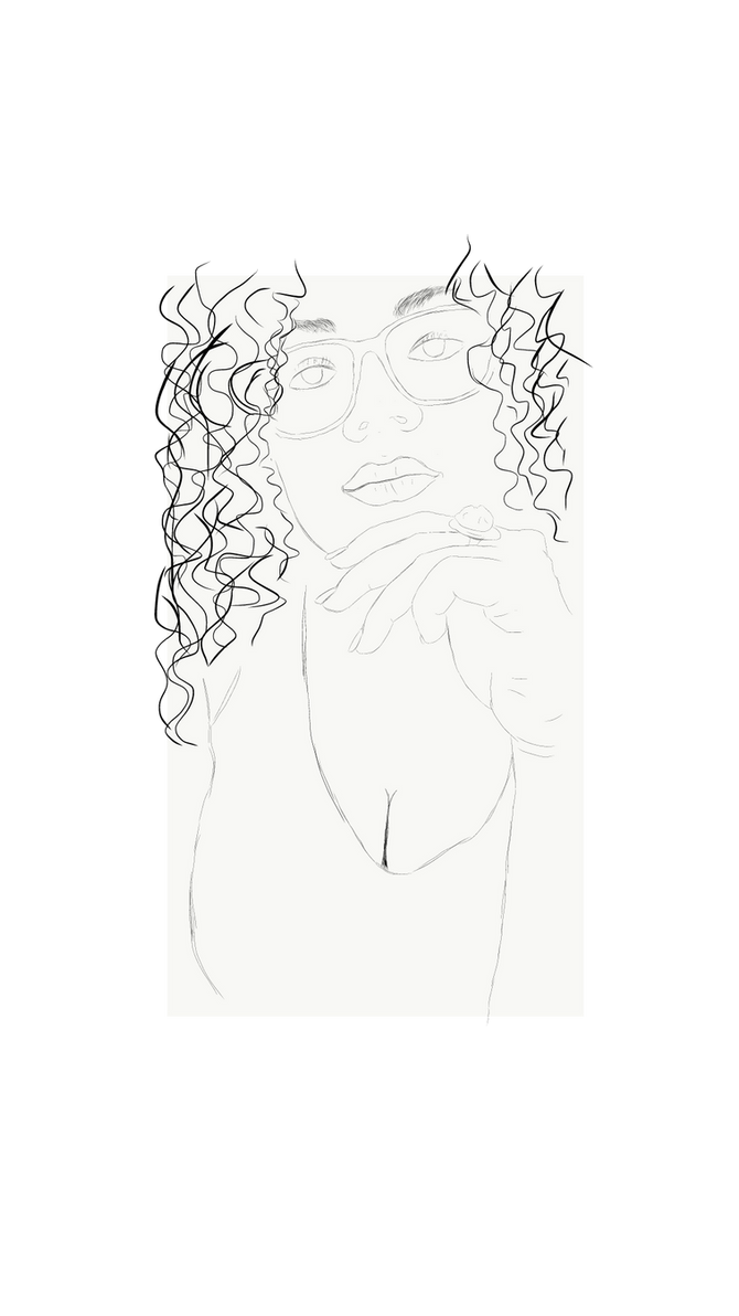 Curly Sketch