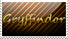 Gryffindor Stamp by Ankh-Ascendant