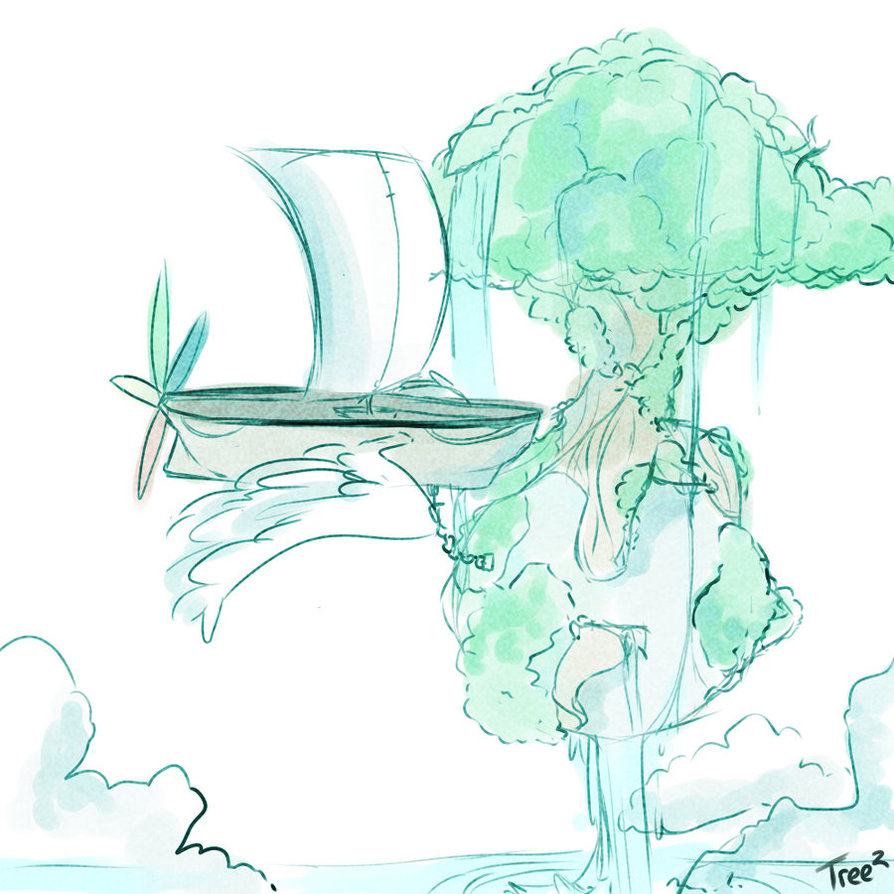 Tree 2 concept art by Ryis