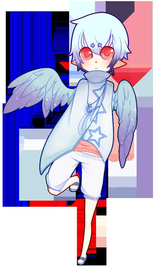 Male Lunar Angel by Ryis