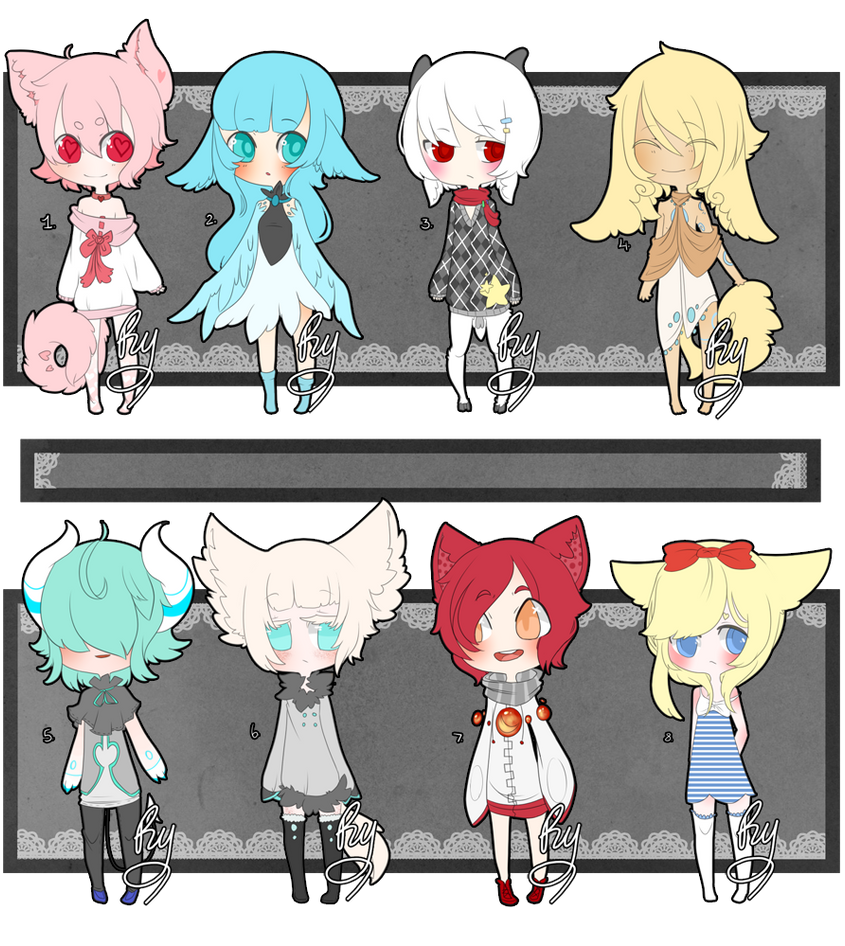 Adopt Batch [Paypal] [Closed] [0 left] by Ryis