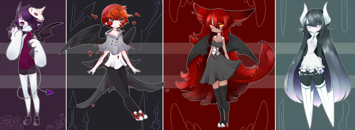 Halloween Adopts! [Paypal] [Closed] by Ryis
