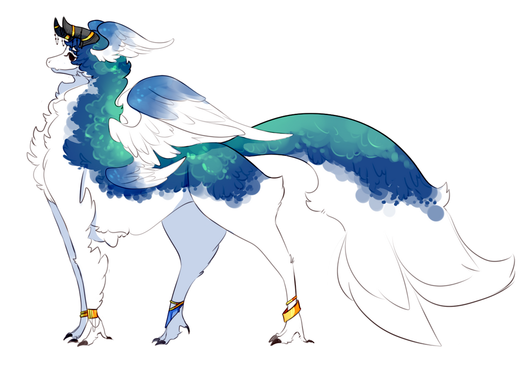 Cuil Commission - Birdragon by Ryis