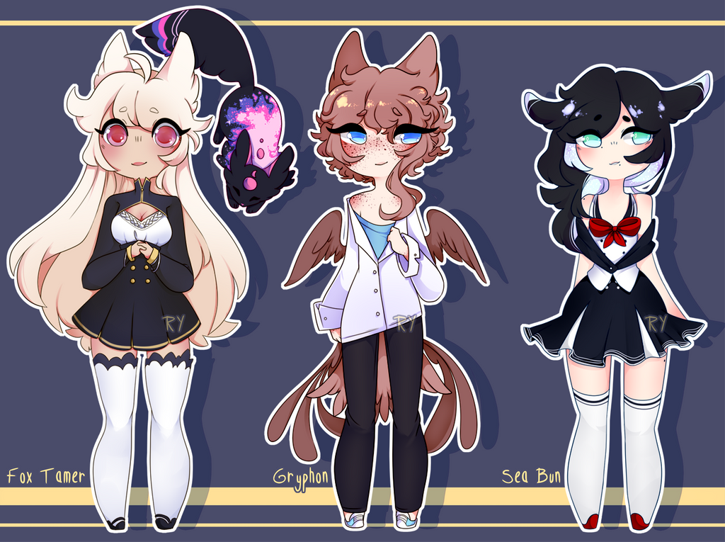Neat Adopts [Closed!] by Ryis