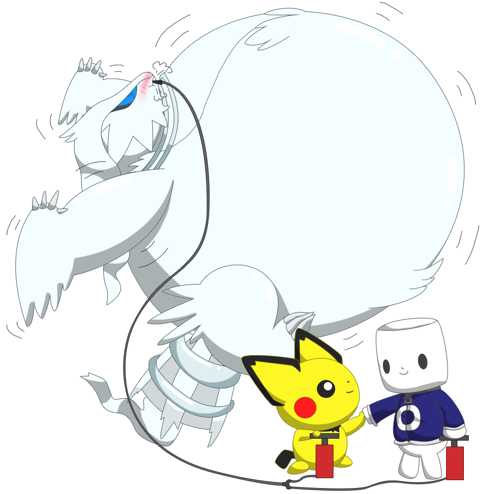 Inflated Reshiram by selphy6 on DeviantArt