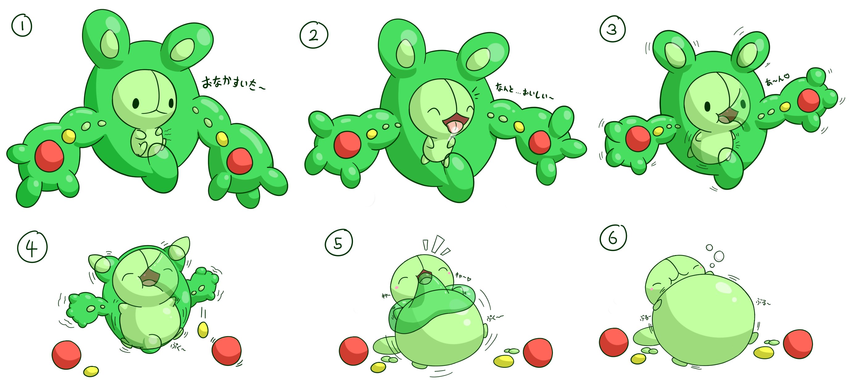 Inflated Gardevoir Hungry Reuniclus by se...