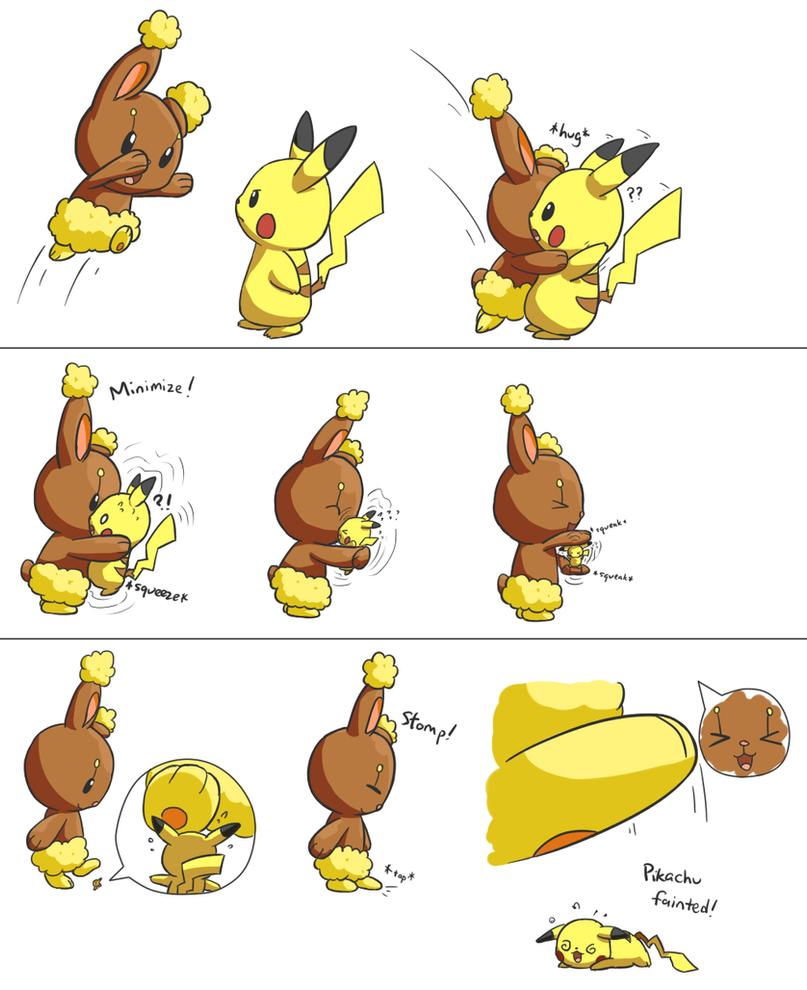 pikachu and buneary comic