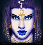 Ancient Egyptian Priestess.