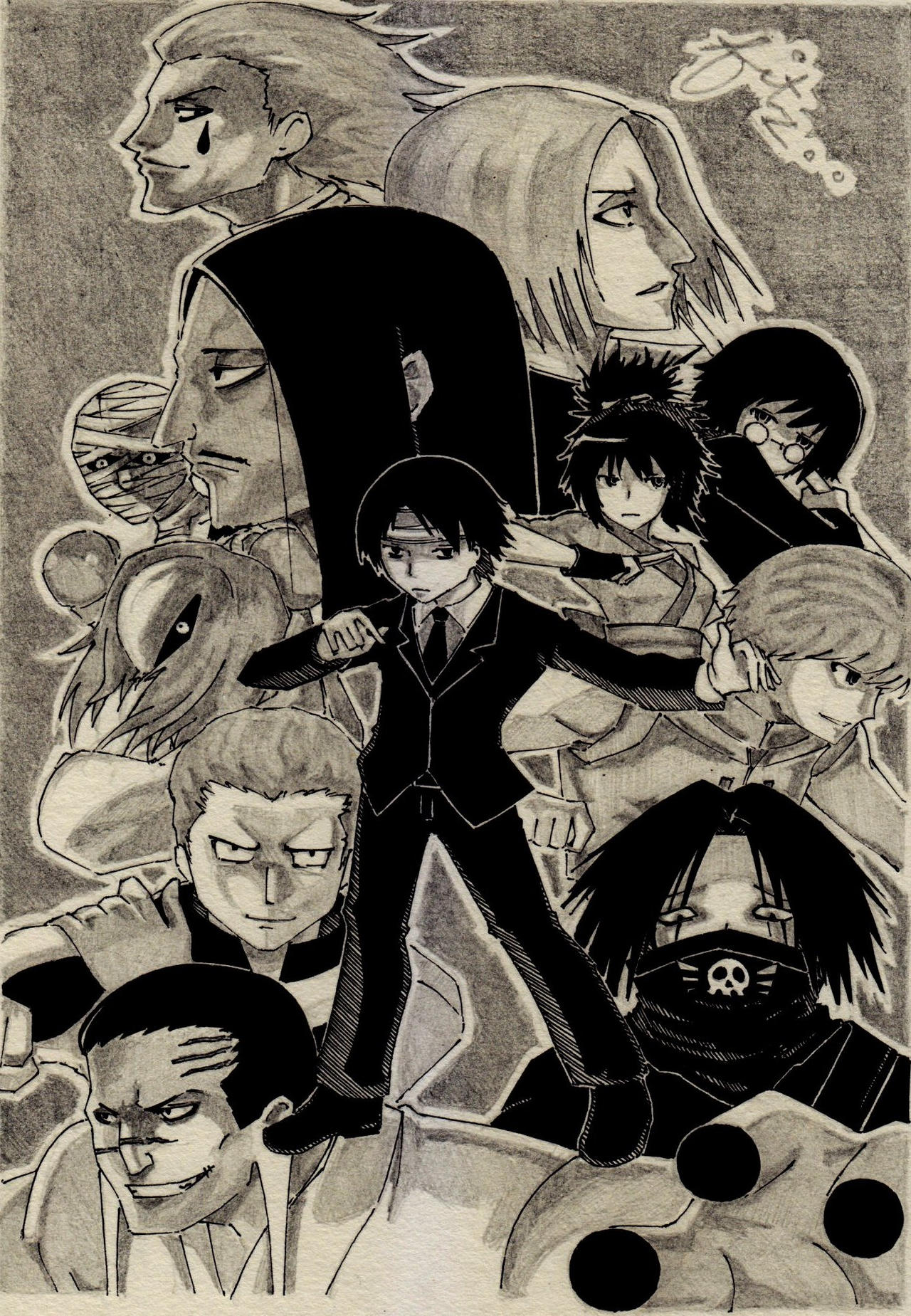Phantom Troupe By Fitz2013